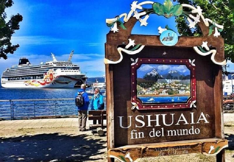 Porto em Ushuaia, Argentina